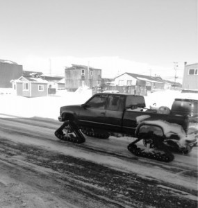 Verns Track Truck